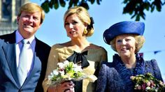 Queens Day in Rhenen, the Netherlands. Our Queen Beatrix, Prince William & Princess Maxima.