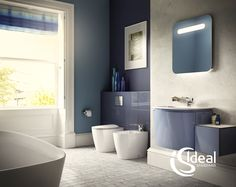 Bathroom by ideal standard homify. Design Your Bedroom, Bathroom Interior Design, Bad Inspiration, Bathroom Inspiration, Ideal Standard, Illuminated Mirrors, Home Decor Paintings, My Furniture, Design Moderne