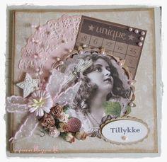 pipserier: Et Vintage kort