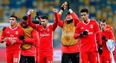 Em Kiev (0-2), Benfica reentra nas contas da qualificação da Champions.