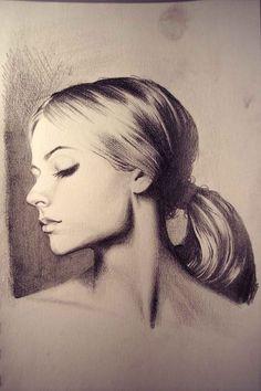 Pencil Drawing Portrait Artwork