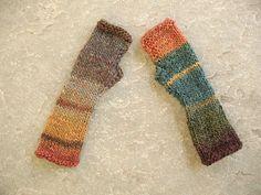 Knit Fingerless gloves in teal, rust, cooper, green, Fngerless  mittens, Knit gloves, Boho knit glove mittens, Girl's wool fingerless gloves
