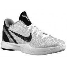 9072c8ac9df Nike Zoom Kobe VI TB White Black Neutral Grey Metallic Silver