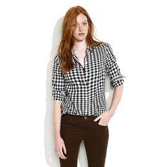 :: black & white gingham ::