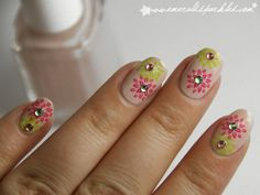 flower nails - minus the stones