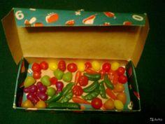 Маленькие овощи. Игрушки СССР - http://samoe-vazhnoe.blogspot.ru/ #игрушки_еда