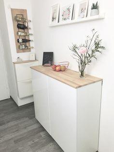 Ikea Hack – Metod Wandschrank als Sideboard Teil II | elfenweiss