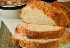 Easy Irish Soda Bread.  Will this taste like the kind they sell in the store?  I dream of it every March.