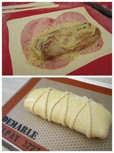 Depuis que j'ai croisé cette recette au dernier réveillon, j'avais envie de la tester. Enfin voilà, Yasmine si tu me lis , j'ai essayé et tout mon petit monde a aimé! Bon à l'origine, c'était un fromage type camembert (?)... misère, je n'avais que du...