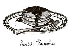 Jill Tytherleigh Illustration - Pancakes