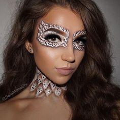 Angel makeup✨ any excuse to cover myself in rhinestones