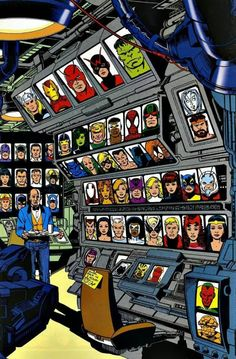 #Avengers #Fan #Art. (Åvengers #170 Cover) By: George Perez. (THE * 5 * STÅR * ÅWARD * OF: * AW YEAH, IT'S MAJOR ÅWESOMENESS!!!™) ÅÅÅ+