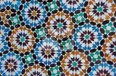 Fotobehang marokkaanse vintage tegel - moroccan • pixers.nl
