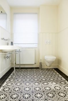 tile floor, Portuguese Tiles Handmade tiles can be colour coordinated and…