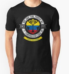 People of Tomorrowland Flags logo Badge - colombia - colombian - colombiano - colombie by Rorion