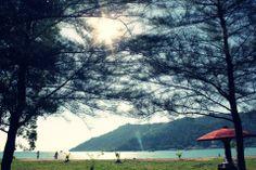 Sako beach, Bungus, Padang, west sumatera, Indonesia.