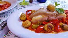 Bacalao con castañas, un plato tradicional de la cocina canaria que se hace del 31 de octubre al 2 de noviembre de cada año. Respetando la tradición del Día de los Finados.