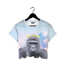 Beloved Shirts presents the Harambe Halo Crop Tee