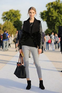 Paris Fashion Week Street Style = Your Ultimate Cheat Sheet to Looking Like the Chicest French Girl Ever