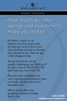 Savings And Investment, Investment Property, Stocks And Shares, Building Society, Investors, Challenges, Sayings, Lyrics, Quotations