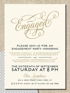 free printable engagement party invitations templates … | pinteres…, Birthday invitations