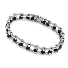 Occident fashion punk style trendy concise chain bracelet for man