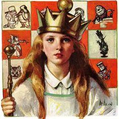 Alice In Wonderland by Nersa McMein, 1927