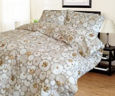 Lenjerie bumbac + Husa pat cadou LP2-319 Comforters, Blanket, Bed, Creature Comforts, Quilts, Stream Bed, Blankets, Beds, Cover