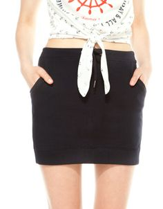 Bershka Croatia -BSK elastic skirt