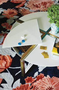 A coffee table with four useful hidden compartments. | 20 Ridiculously Awesome Pieces Of Furniture You Wish You Could Afford