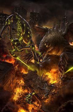 Monsterpocalypse One by ~OmeN2501 on deviantART