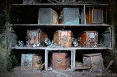The catacombs beneath London's Brompton Cemetery