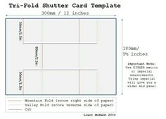 Such a Pretty Mess: Bo Bunny & Scor Buddy - TriShutter Card Template