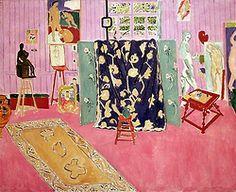 The Pink Studio, 1911 Matisse