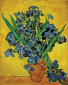 <빈센트 반 고흐 '아이리스'> 1890년에 그려진 작품으로 반 고흐 미술관에 소장되어있다. 붓꽃(아이리스)은 빈센트 반 고흐가 1888년부터 몰두했던 주제이다. 심지어는 정신병원에 입원해 있는 동안에도 붓꽃 그리기에 열중했다고 한다. 그는 붓꽃이 불안한 영혼으로부터 인간을 보호해 주는 형태와 의미를 가지고 있다고 해석했다. 생 레미 정신병원에 입원한 이후, 정원의 화단에 피어있는 붓꽃을 흥미롭게 관찰했던 반 고흐는, 화단으로부터 붓꽃이라는 모티프를 관념적으로 추출하여 캔버스 위에 되살렸다. 반 고흐는 생 레미 정신병원에 입원하면서부터 정원의 화단에 핀 붓꽃을 흥미롭게 관찰하였고, 화단으로부터 붓꽃을 관념적으로 추출하여 캔버스 위에 되살렸다. 모든 작품이 그러하지만 이 작품은 실제로 꼭 보고싶은 작품 중에 하나이다. 고흐의 붓 터치 하나하나가 사진으로 보는 것 보다 훨씬 캔버스에 꽃을 '되살렸다'라는 느낌이 든다고 얘기를 들었기 때문이다. 언젠간 꼭 보러 가고싶은 작품이다.