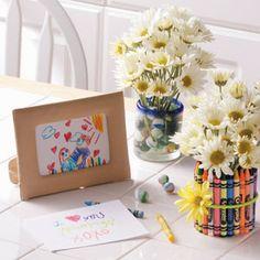 Portal de Manualidades: Floreros para el día de la madre