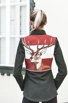 Models, Leather Skirt, Blazer, Skirts, Fashion, Cashmere, Equestrian, Mandarin Collar, Jackets