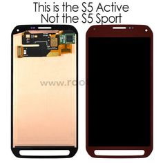 s5 active lcd digitizer
