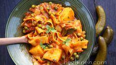 Potato Noodles Stew Recipe - Armenian Cuisine - Heghineh Cooking Show