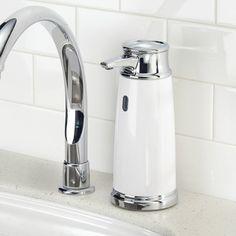 Ebern Designs Gurganus Hands Free Soap Dispenser & Reviews   Wayfair