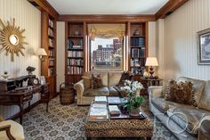 Check Out the Wall Mural in This $6.5M Upper East Side Co-op