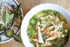 Pho Ga (Chicken Noodle Soup) This is so good and easy to make. Full of flavor!