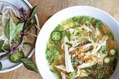 Pho Ga (Chicken Noodle Soup) recipe