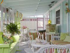 beautiful summery porch