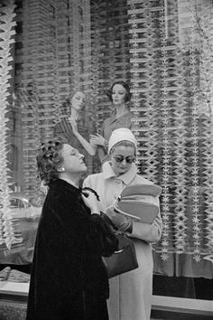 Henri CARTIER-BRESSON :: New York, 1959  #doppel