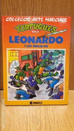 TORTUGUES NINJA. LEONARDO I LES NINJA-TO. ED / MILTILIBRO - 1991 / COMO NUEVO. CATALÁN