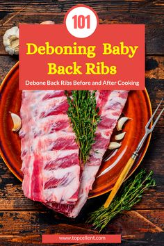 Baby back ribs, for example, need deboning. It's a delicate job to cut them. You have to have precise guidance to know how to debone baby back ribs. Barbecue Ribs, Barbecue Sauce, Smoked Ribs, Tasty Dishes, Delicate, Meals, Cooking, Baby, Kitchen