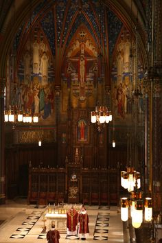 The Cathedral of the Madeleine, Salt Lake City Interior designed 1917