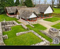 Roman ruins in Dorchester, England with Thomas Hardy in The Mayor of Casterbridge.