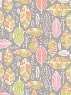 Blush & Mint Leaves on a gray background.